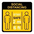 Social,Distancing.,Keep,The,1-2,Meter,Distance.,Coronovirus,Epidemic,Protective.